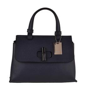 Modrá kožená kabelka Matilde Costa Tiel