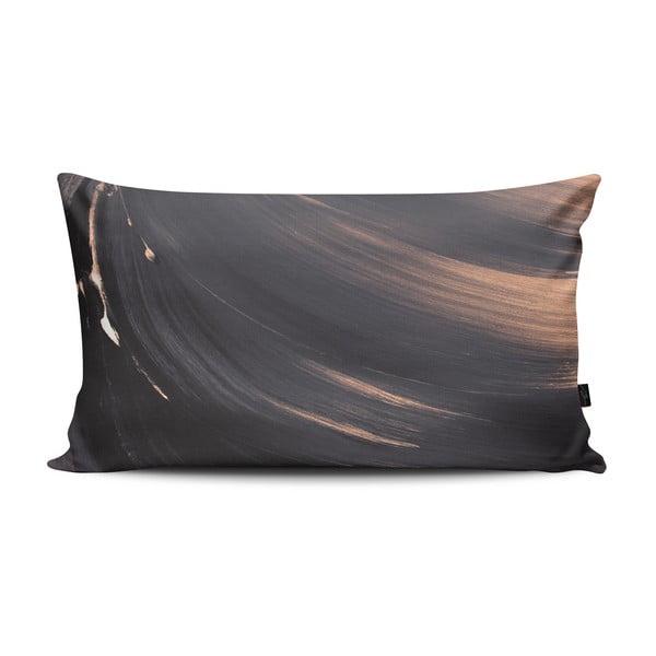 Polštář Shady Gray Pink, 47x30 cm