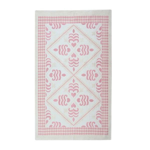 Bavlněný koberec Flair 160x230 cm, pudrový