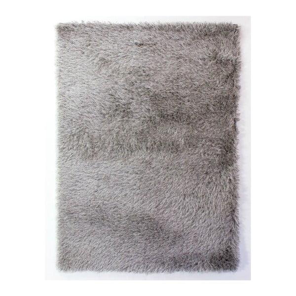 Šedý koberec Flair Rugs Dazzle Silver, 120 x 170 cm