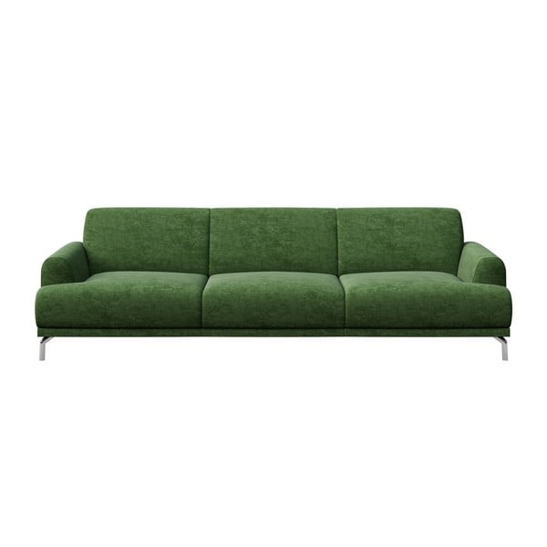 Zelená trojmiestna pohovka MESONICA Puzo