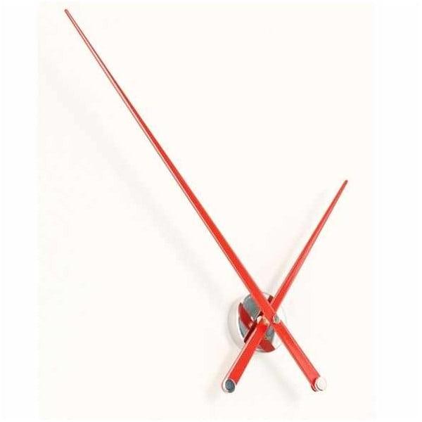 Hodiny Axioma L 105 cm, červené