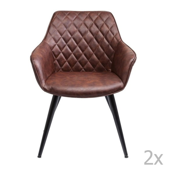 Sada 2 jídelních židlí Kare Design Harry