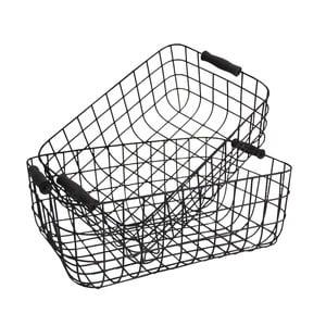 Sada 2 kovových košíků Loft