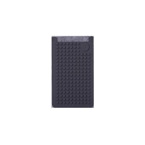 Univerzální malý obal na telefon PixelArt, grey/grey