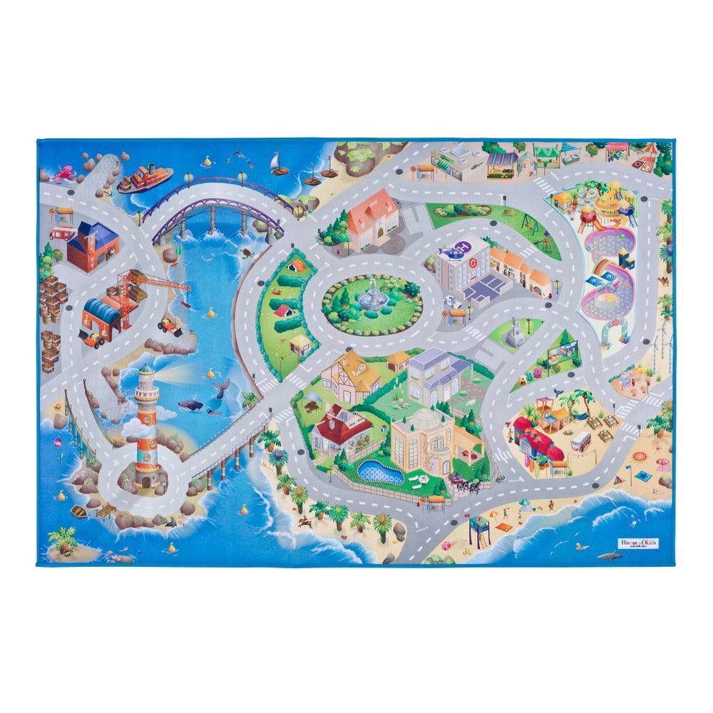 Dětský koberec Universal Grip Seaside, 100 x 150 cm