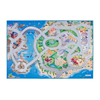 Covor pentru copii Universal Grip Seaside, 100 x 150 cm
