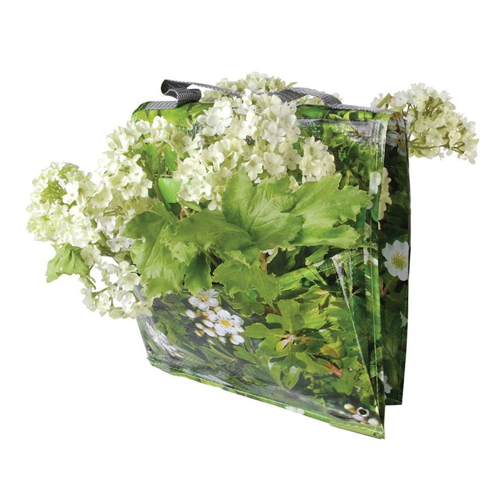 Zelená taška na květiny přes zábradlí Esschert Design Ginny
