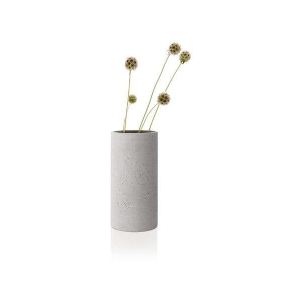 Svetlosivá váza Blomus Bouquet,výška24cm
