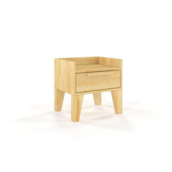 Noční stolek z masivního borovicového dřeva SKANDICA Agava