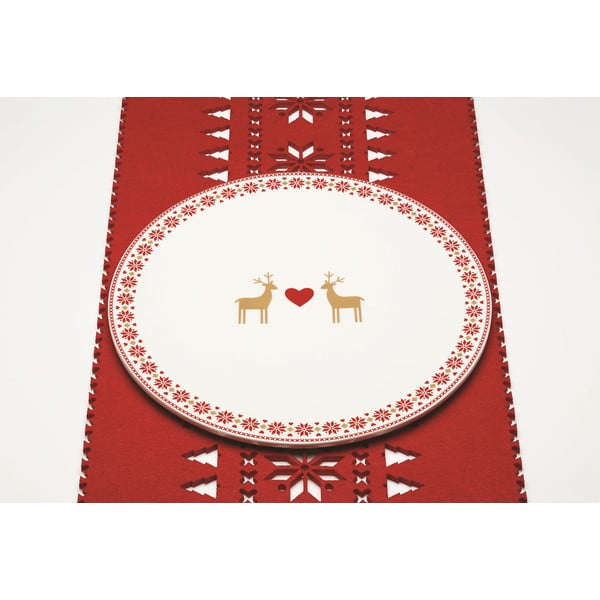 Talíř na dort Merry Little Christmas, 30 cm