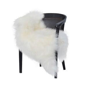 Bílá ovčí kožešina s dlouhým chlupem Arctic Fur Chesto, 90 x 50 cm