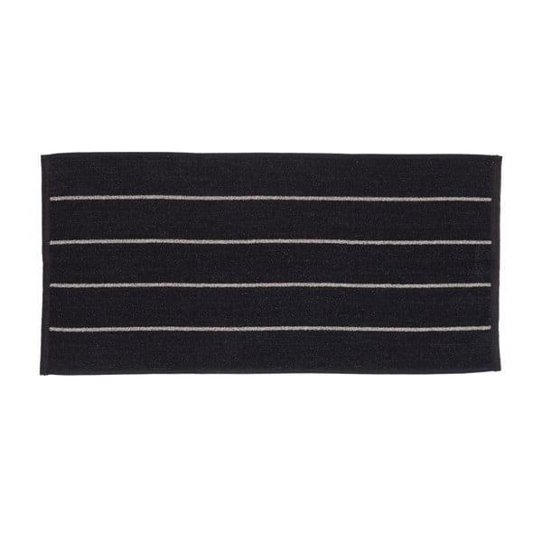 Sada 2 černých froté ručníků Casa Di Bassi Camilla, 50x100cm