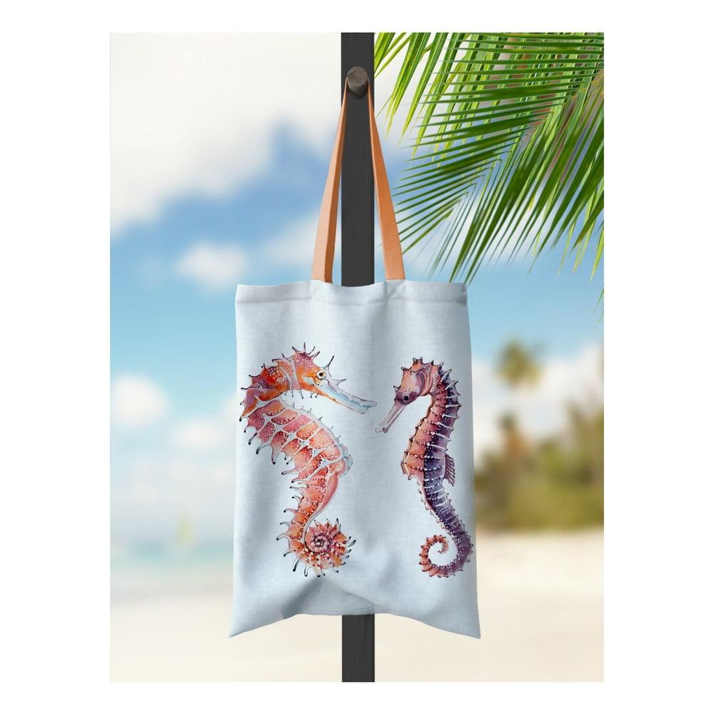 Plážová taška Kate Louise Seahorse