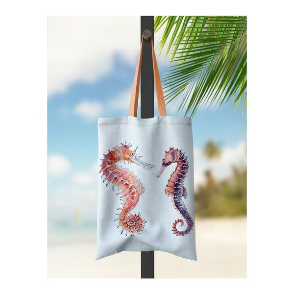 Geantă de plajă Kate Louise Seahorse