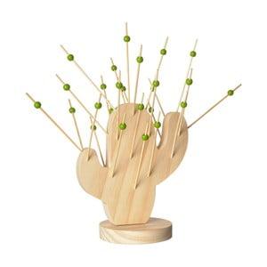 Bambusový stojan s napichovátky Le Studio Cactus Cocktail Picks