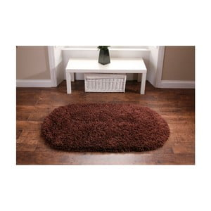 Hnědý koberec Think Rugs Rainbow Brown, 75x135cm