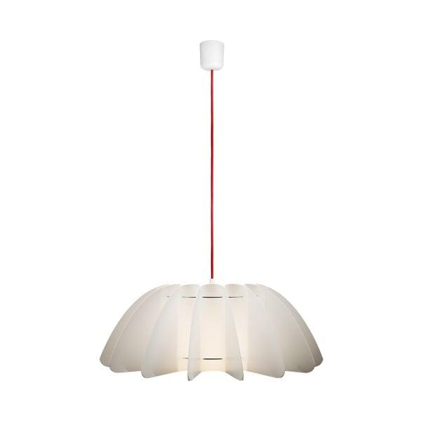 Závěsné svítidlo Primrose white/red