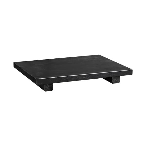 Set 2 noptiere din lemn de pin Karup Design Dock Sidetable Black, negru