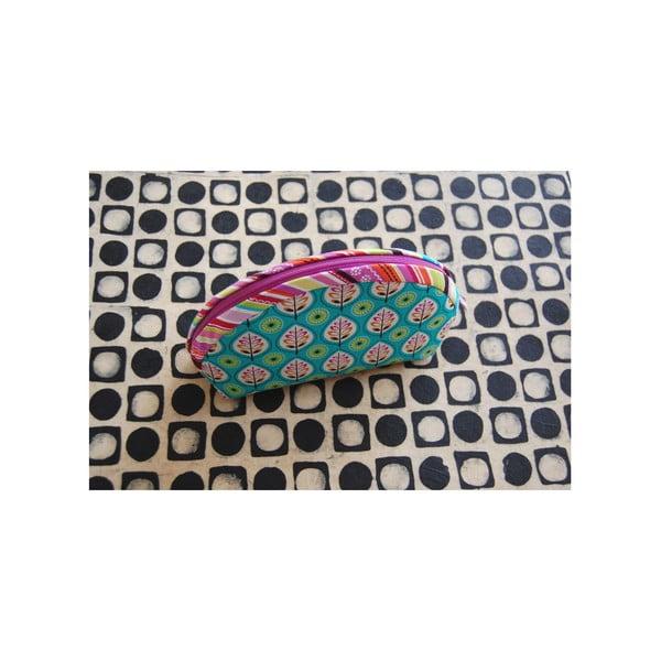 Kosmetická taštička z chráněné dílny Via Roseta, listy