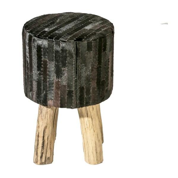 Taburetka Colo Patch Hocker, černá