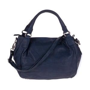 Tmavě modrá kožená kabelka Tina Panicucci Remy