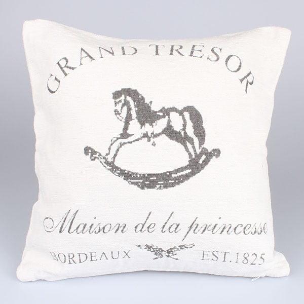 Povlak na polštář Grand Tresor, bílý