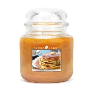 Vonná svíčka ve skleněné dóze Goose Creek Javorové máslo, 0,45 kg