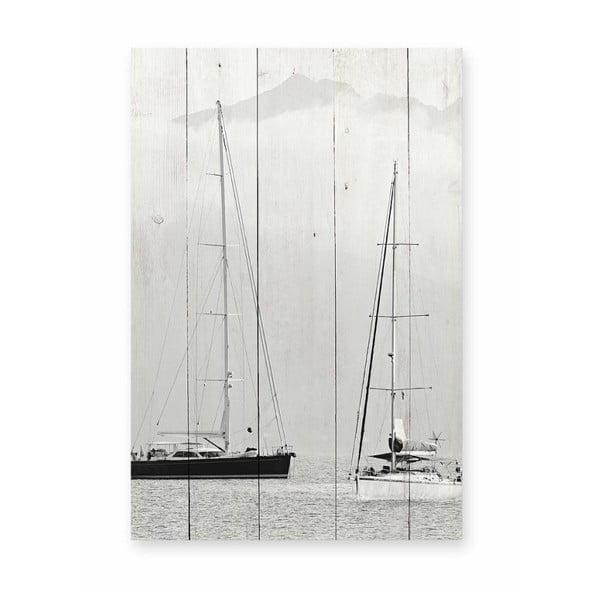 Nautica Fotografia borovi fenyő falitábla, 40 x 60 cm - Really Nice Things