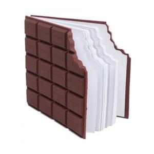 Deníček ve tvaru tabulky čokolády Gift Republic Memo