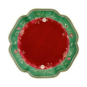 Servírovací talíř s vánočním motivem Brandani Tempo di Festa, ⌀31cm
