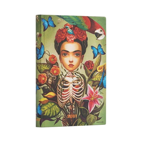Kalendarz na rok 2021 Paperblanks Frida