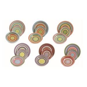 Sada porcelánových talířů Sapore, 18 ks