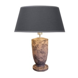 Stolní lampa Ashton Earth/Anthrazit