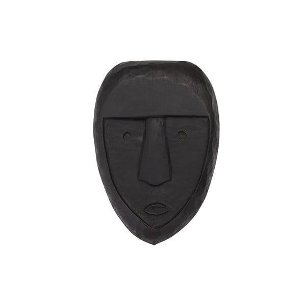 Černá závěsná dekorace ze dřeva mango WOOOD Xava