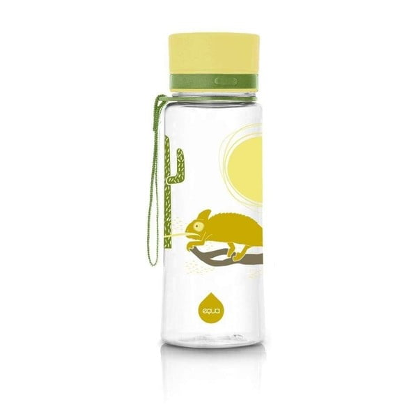 Chameleon sárga ivópalack, 600 ml - Equa