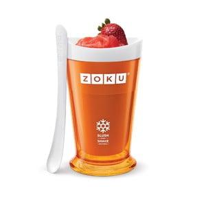 Oranžový výrobník ledové tříště ZOKU Slush&Shake