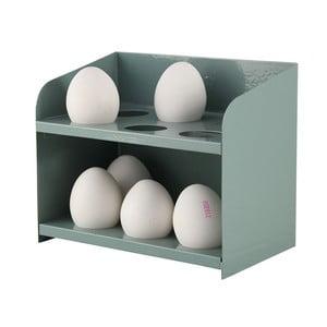 Stojánek na vajíčka, šedozelený