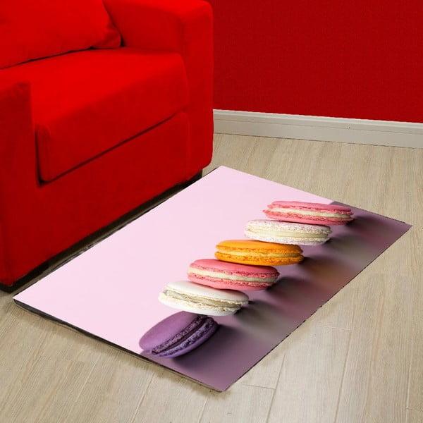 Vinylový koberec Macaron, 52x75 cm