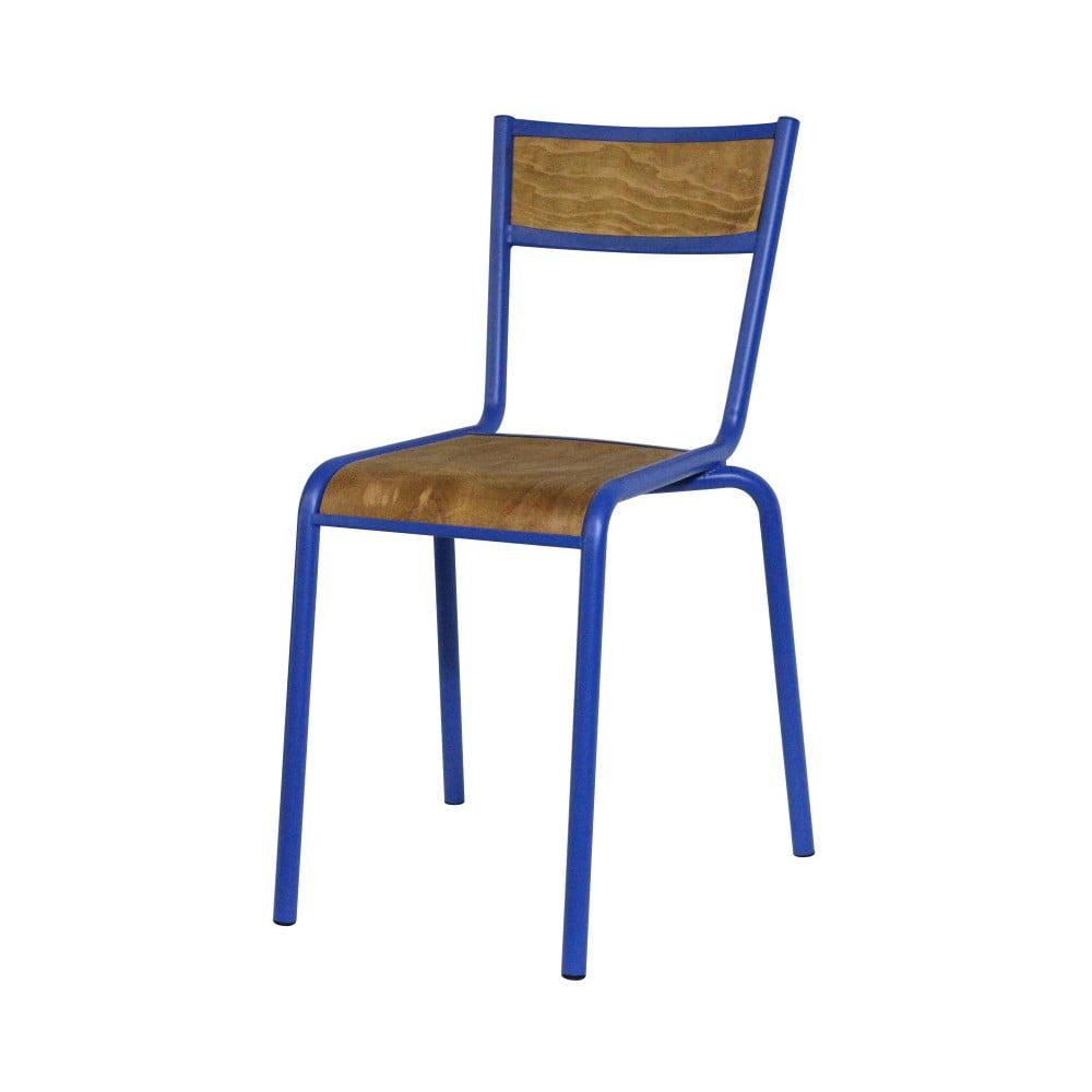Jídelní židle s modrou kovovou konstrukcí Red Cartel Pilot