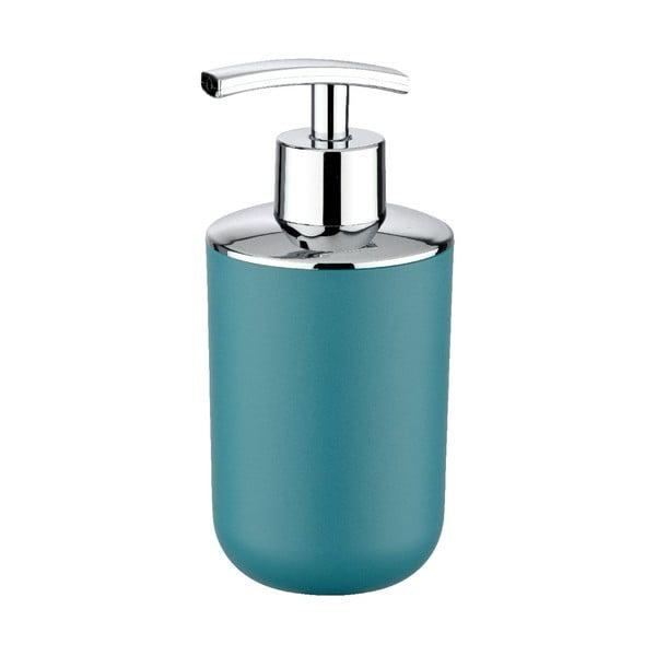 Dozator săpun lichid Wenko Brasil Petrol, albastru petrol