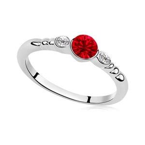 Prsten s krystaly Swarovski Catherine Passion, velikost 52