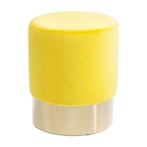 Scăunel Kare Design Cherry, galben