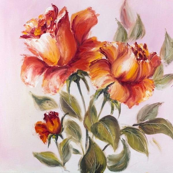 Obraz Romantické tahy štětcem, 60x60 cm