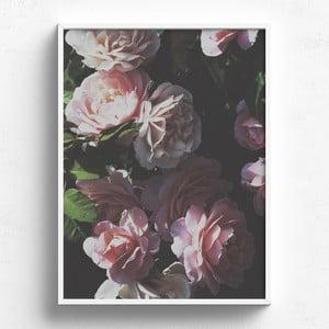 Obraz v dřevěném rámu HF Living Abades, 30 x 40 cm