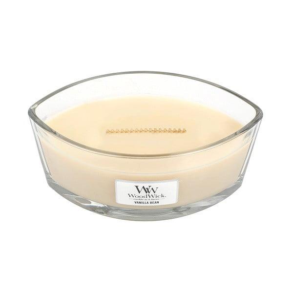 Vonná svíčka WoodWick Vanilla, 453 g, 50 hodin
