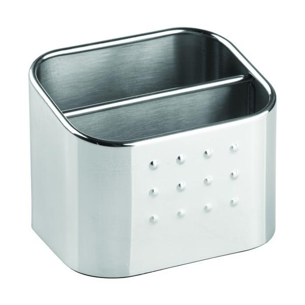 Cutie depozitare din metal pentru bureți iDesign Forma, 8x10cm