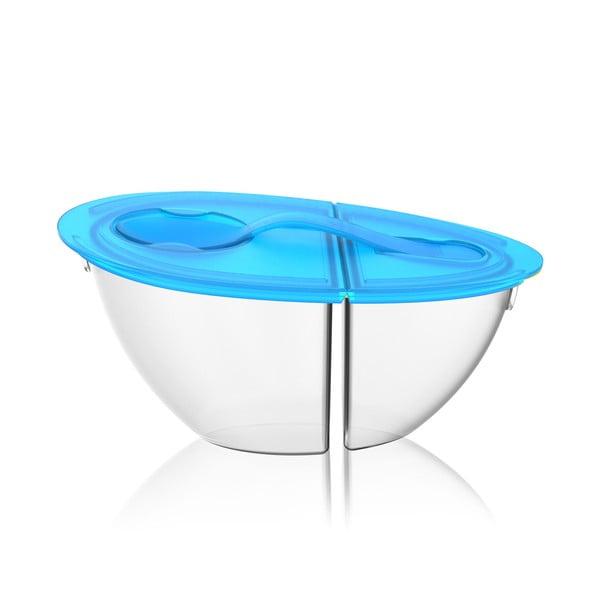 Přenosná miska na jogurt Flip N' Pour Teal
