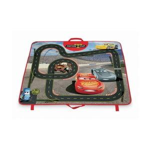 Rozkládací úložný box s hrací podložkou Domopak Cars