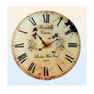 Nástěnné hodiny Piccadily Circus